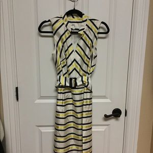 Milly Chevron Striped Dress